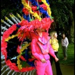 Colourfull parade in Scotland 2004