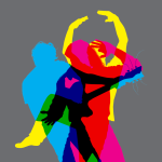Dancers (on Grey background)