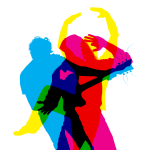 Dancers (on White background)