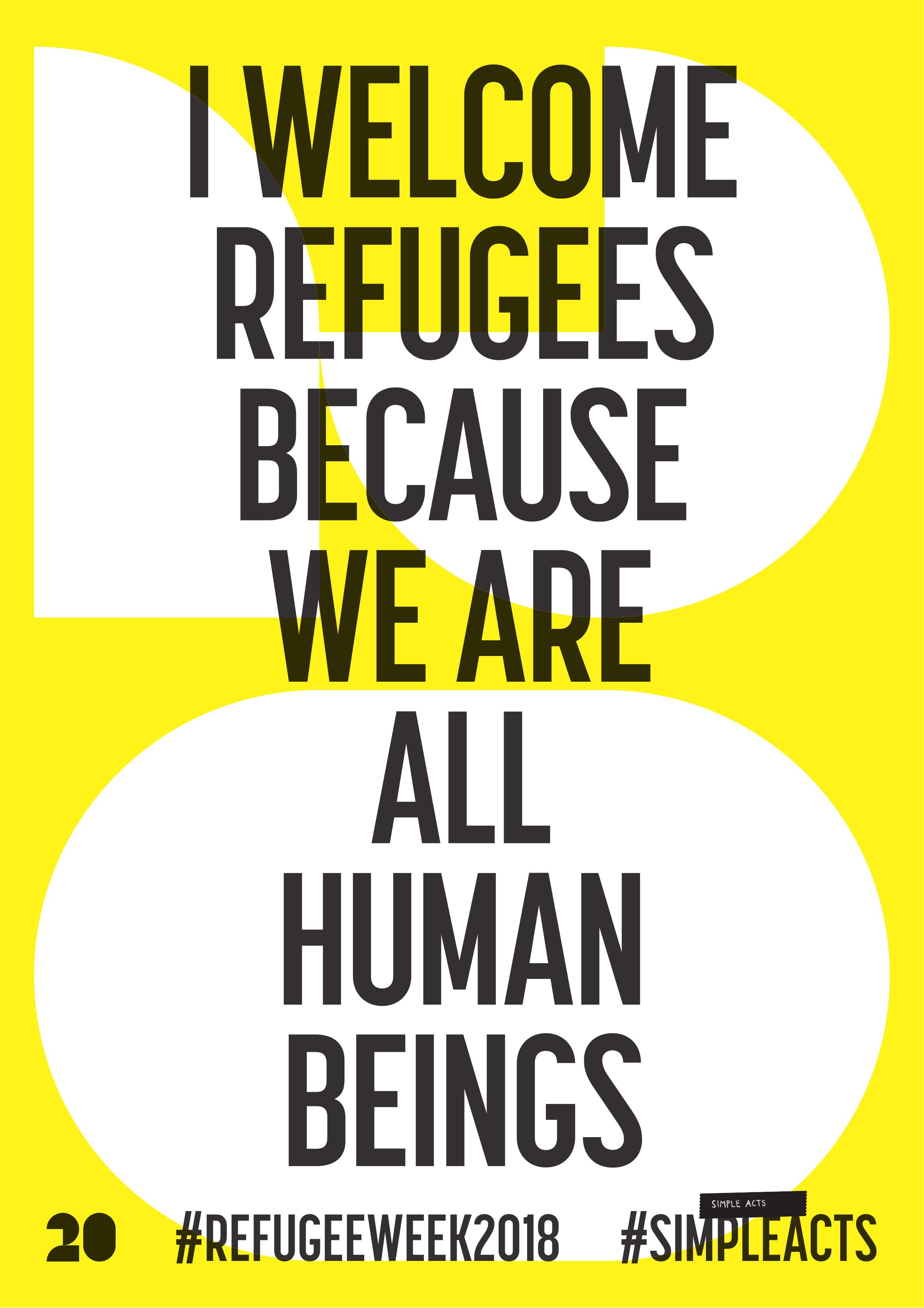 downloadable poster refugee week