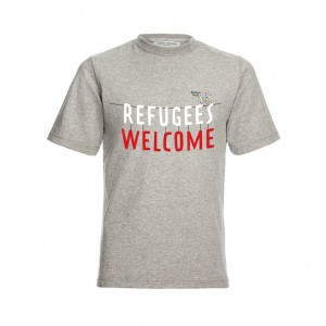 New t-shirts available now! Our new 'Refugees Welcome' t-shirts are now ready to order from our shop for Refugee Week 2016!