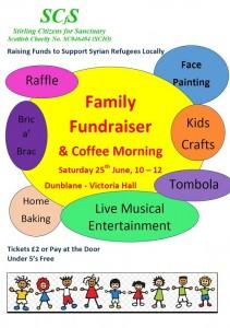 SCfS Fundraiser 25-Jun Poster