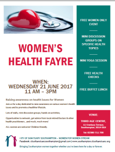 Women's Heath Fayre