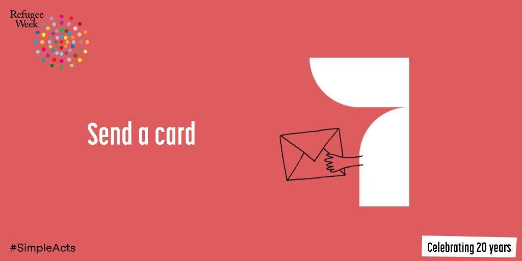 7 Send A Card Refugee Week