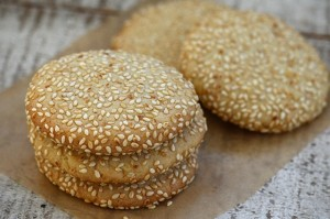 Sesame-cookie-stack
