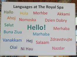 Languages at Spa