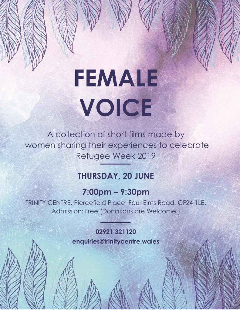 refugee week female voice film poster-1