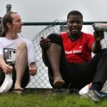 Football Tournament at Leeds 2007 - Photograph by Amaya Roman