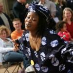 Performer at Celebrating Sanctuary Birmingham 2007 - Photograph by Amaya Roman
