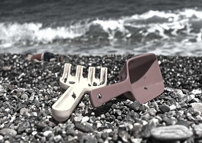 20--Playing-On-Beach