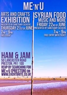 ME'n'U - Syrian Food, Music & More | Refugee Week