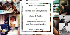Panel DiscussionsQ&AReadings and PerformancesFree Tea & CakeArt show-1