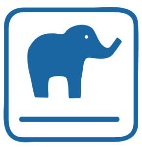 Elephant Without Wording