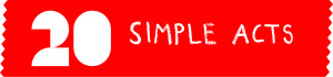 20 Simple Acts logo