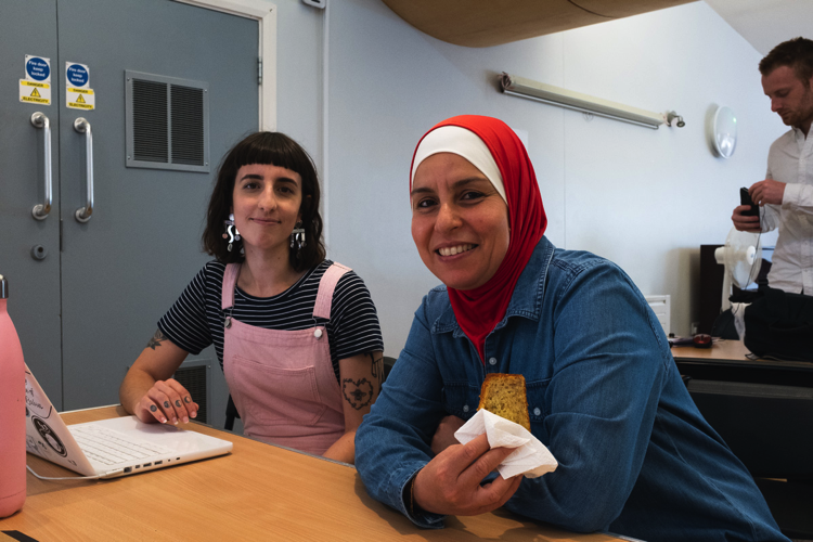 Simple Act number 8: Bake a Cake. Our amazing volunteers baked cakes which were shared between the team and clients at our Advice & Guidance centres in Hoxton and Clapham