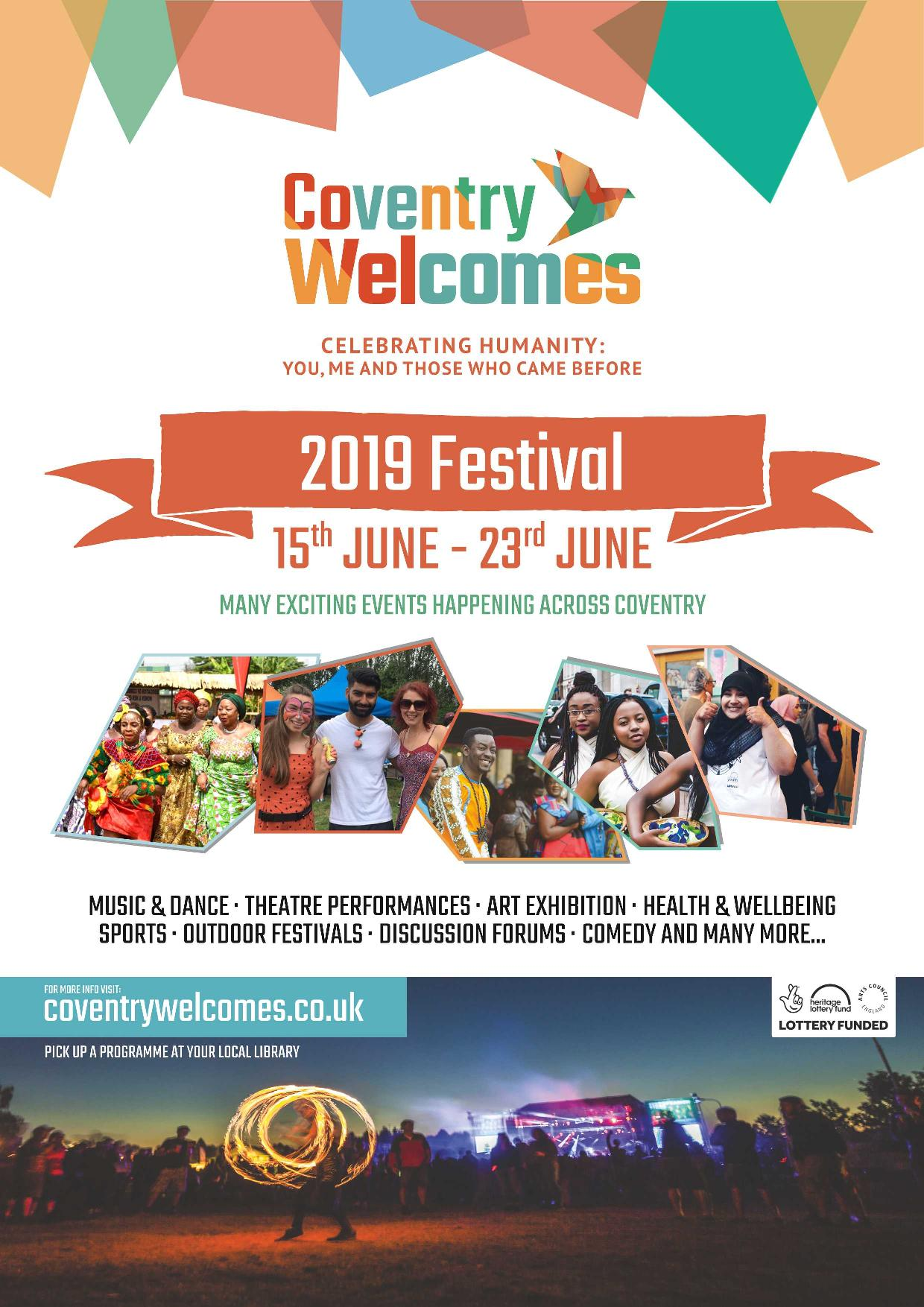 Coventry Welcomes Festival | Refugee Week