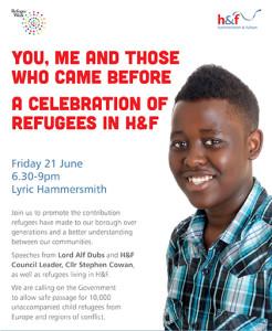 Refugee Week A5 flyer WEB