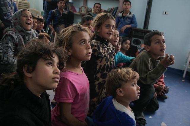 Camp in Bekaa - Syrian Eyes small