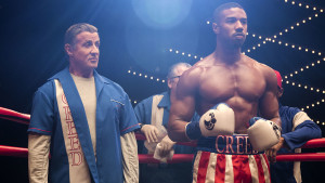 C2_01193_R Sylvester Stallone stars as Rocky Balboa and Michael B. Jordan as Adonis Creed and in CREED II, a Metro Goldwyn Mayer Pictures and Warner Bros. Pictures film. Credit: Barry Wetcher / Metro Goldwyn Mayer Pictures / Warner Bros. Pictures © 2018 Metro-Goldwyn-Mayer Pictures Inc. and Warner Bros. Entertainment Inc. All Rights Reserved.