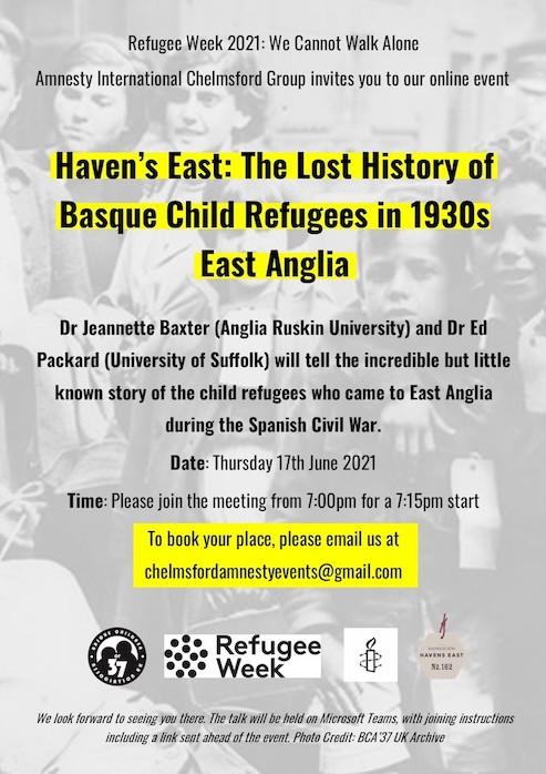 RefugeeWeekTalkS