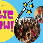 Bristol Refugee Festival magic show